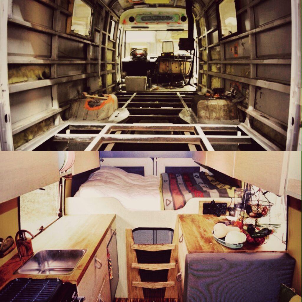 Vanlife conversion camper